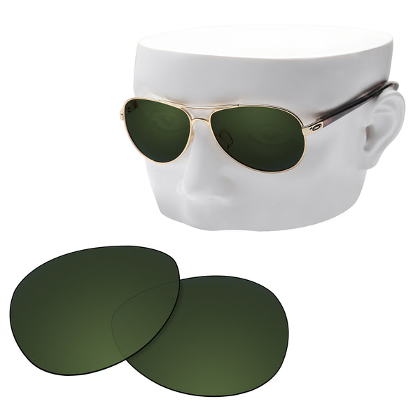 OOWLIT Replacement Lenses for Oakley Feedback Sunglass