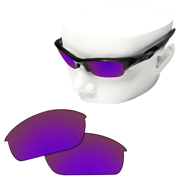 OOWLIT Replacement Lenses for Oakley Flak Jacket Sunglass