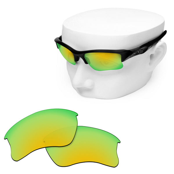 OOWLIT Replacement Lenses for Oakley Flak Jacket XLJ Sunglass
