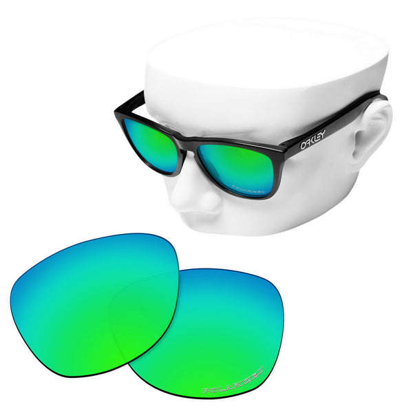 OOWLIT Replacement Lenses for Oakley Frogskins Sunglass