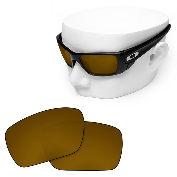 OOWLIT Replacement Lenses for Oakley Fuel Cell Sunglass