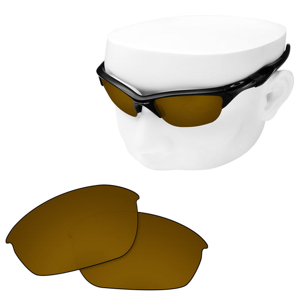 OOWLIT Replacement Lenses for Oakley Half Jacket 2.0 Sunglass