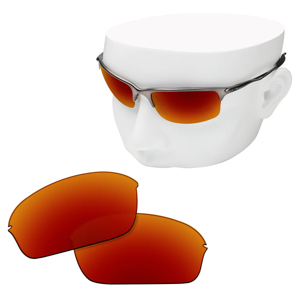 OOWLIT Replacement Lenses for Oakley Half Wire 2.0 Sunglass