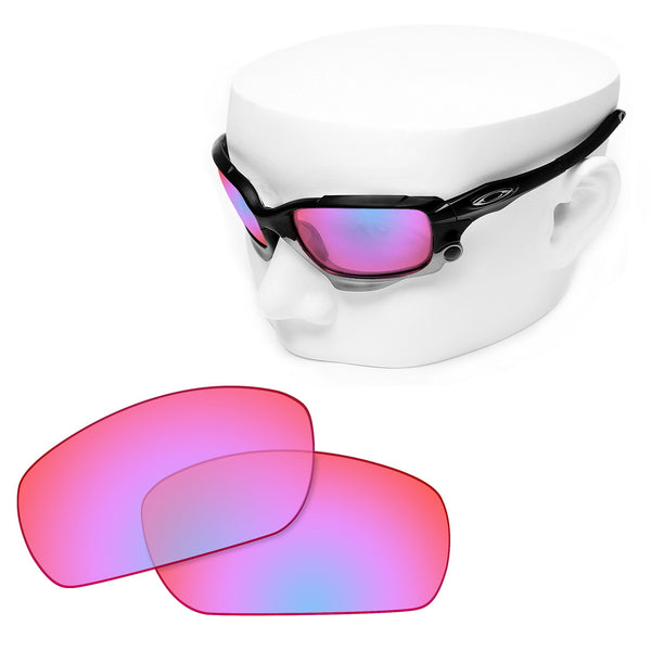 OOWLIT Replacement Lenses for Oakley Racing Jacket Sunglass