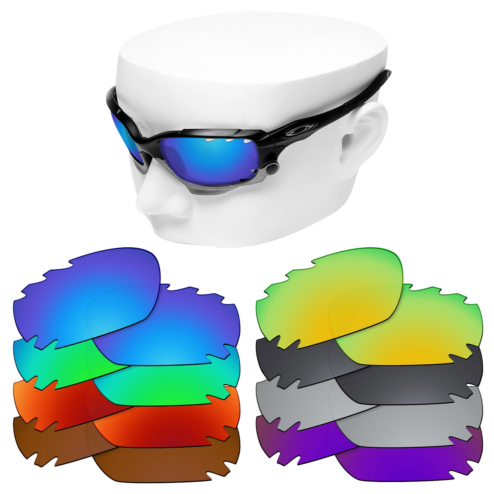 oakley jawbone vented replacement lenses polarized
