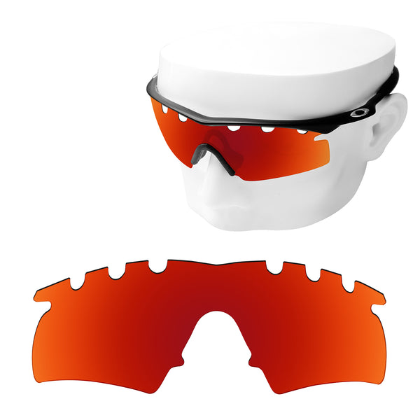 OOWLIT Replacement Lenses for Oakley M Frame Hybrid Vented Sunglass