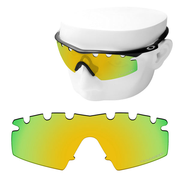 OOWLIT Replacement Lenses for Oakley M Frame Strike Vented Sunglass