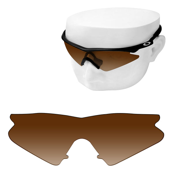 OOWLIT Replacement Lenses for Oakley M Frame Sweep Sunglass