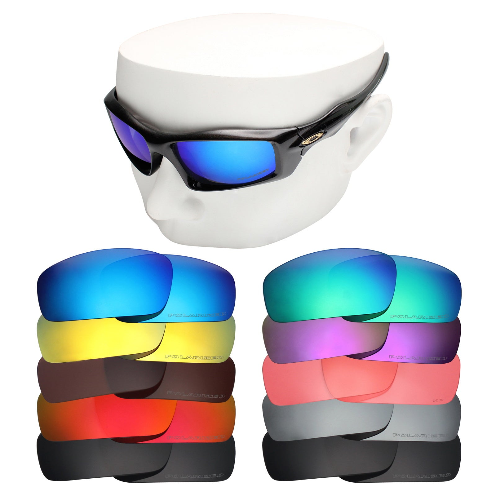 oakley monster pup replacement lenses polarized