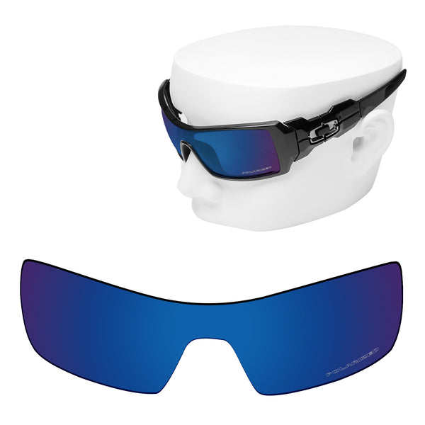 OOWLIT Replacement Lenses for Oakley Oil Rig Sunglass