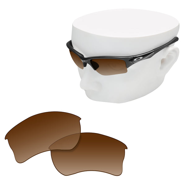 OOWLIT Replacement Lenses for Oakley Quarter Jacket Sunglass