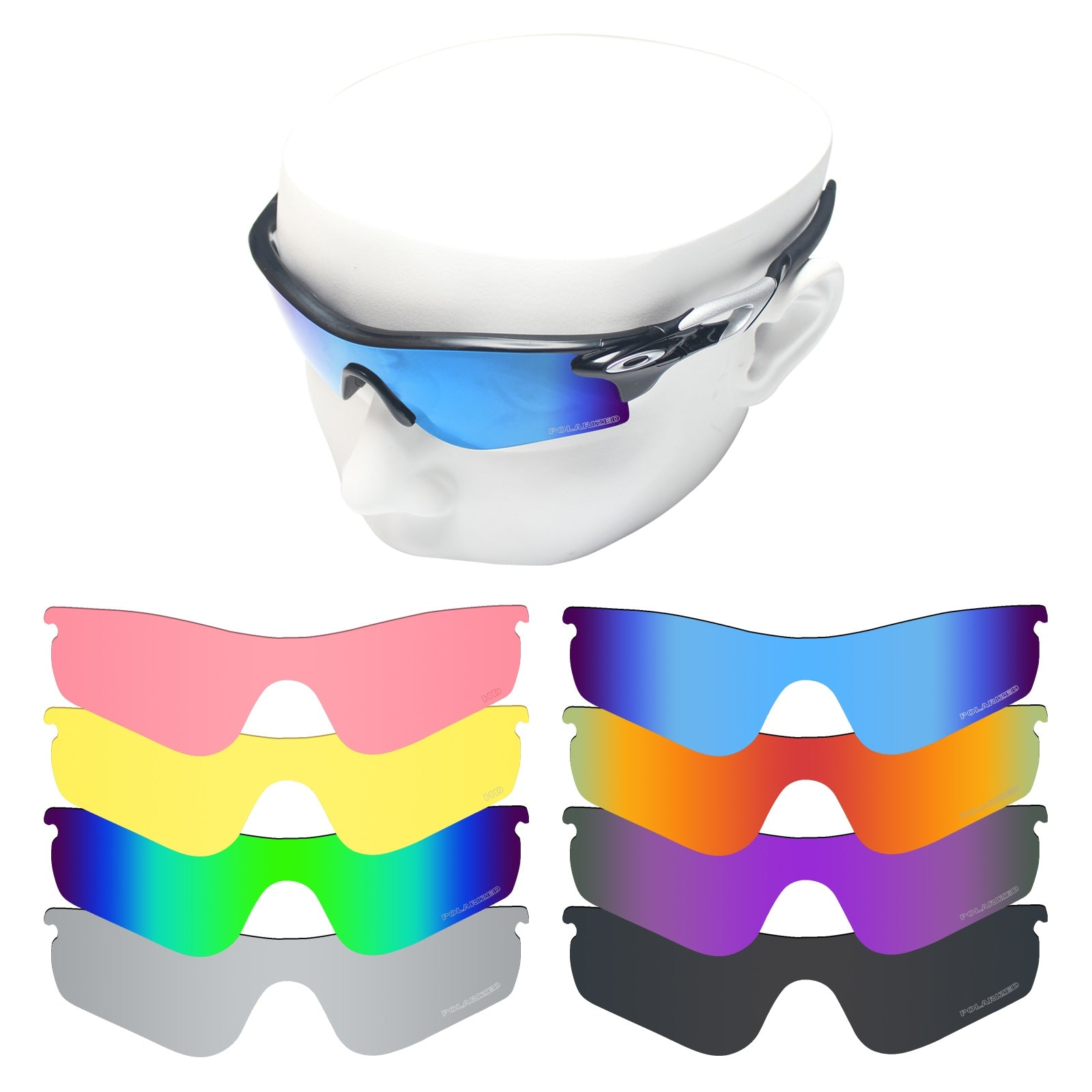 oakley radarlock path replacement lenses polarized