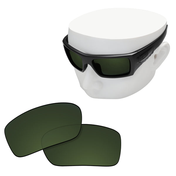 OOWLIT Replacement Lenses for Oakley Si Ballistic Det Cord Sunglass