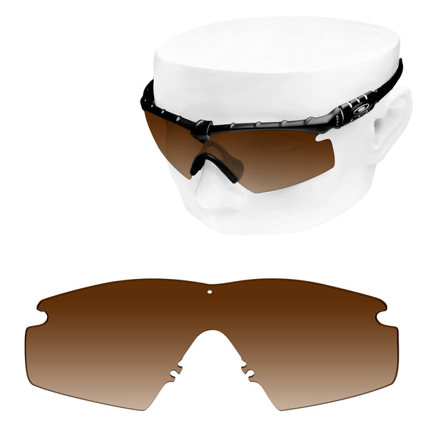 OOWLIT Replacement Lenses for Oakley M Frame 3.0 Sunglass