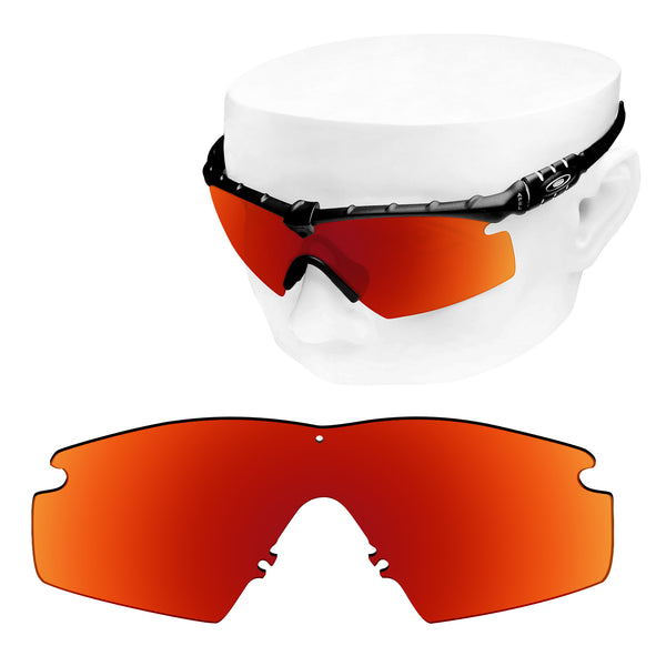 OOWLIT Replacement Lenses for Oakley M Frame 2.0 Sunglass