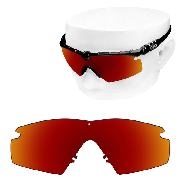 OOWLIT Replacement Lenses for Oakley Si M Frame 2.0 Sunglass