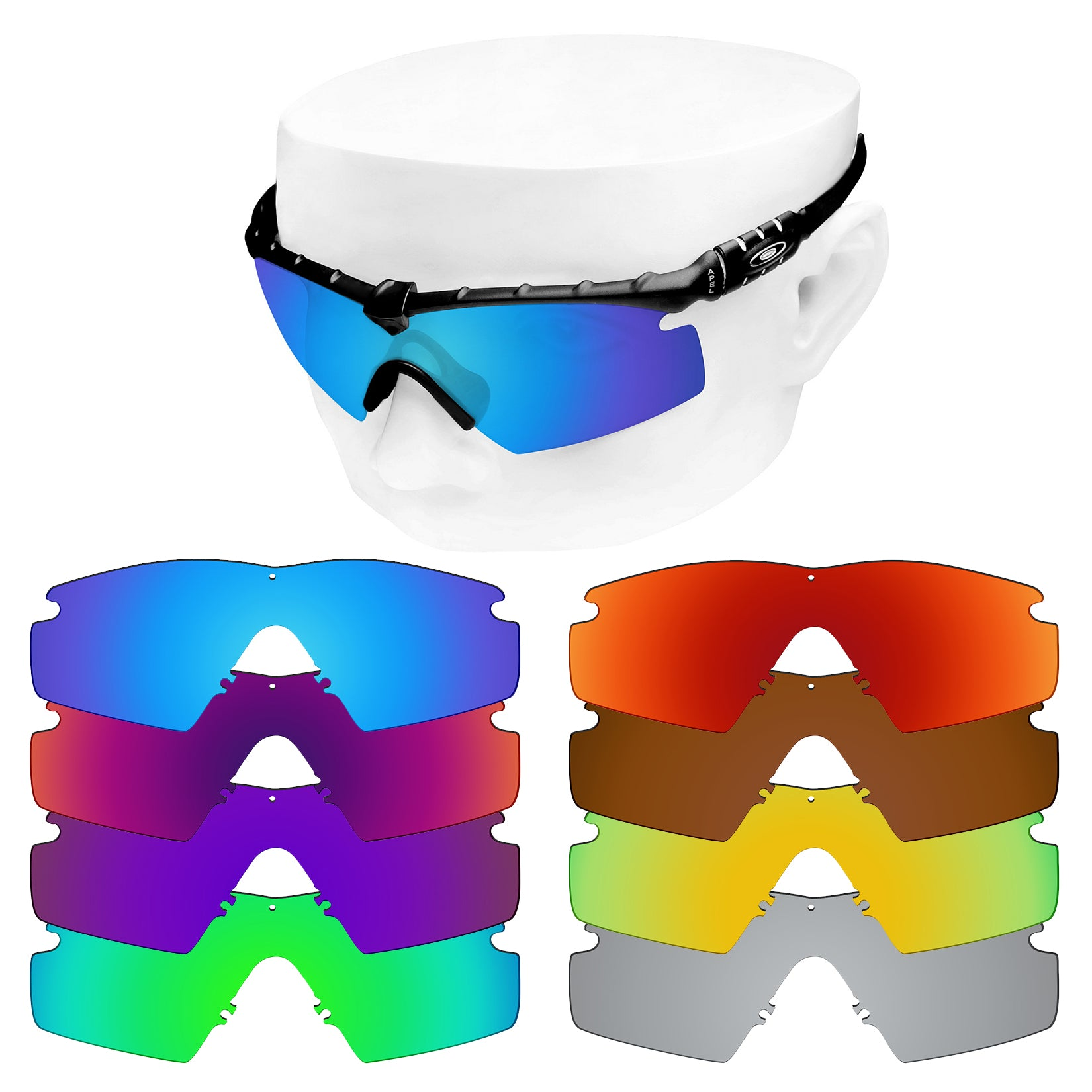 oakley m frame 3.0 replacement lenses polarized