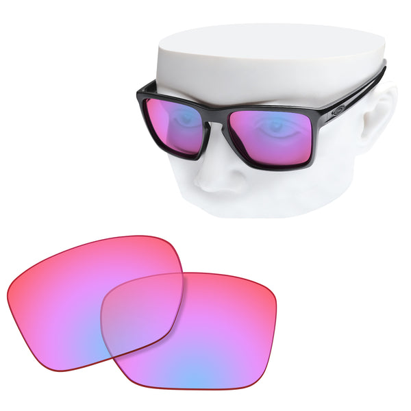 OOWLIT Replacement Lenses for Oakley Sliver XL Sunglass