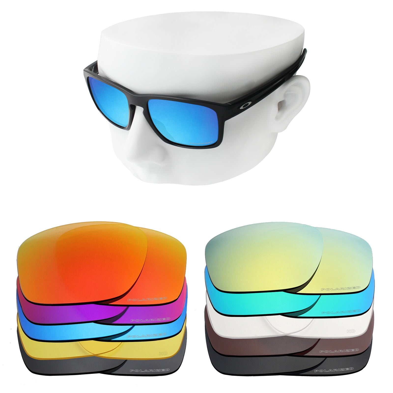 oakley sliver replacement lenses polarized