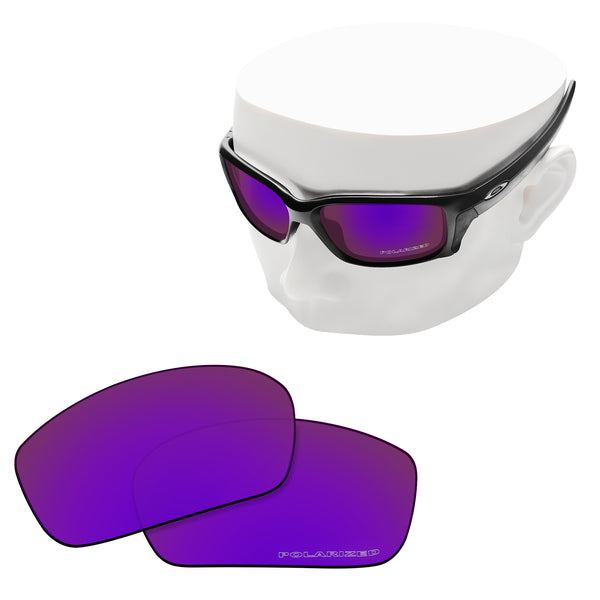 OOWLIT Replacement Lenses for Oakley Straightlink Sunglass