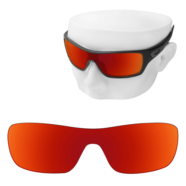 OOWLIT Replacement Lenses for Oakley Turbine Rotor Sunglass