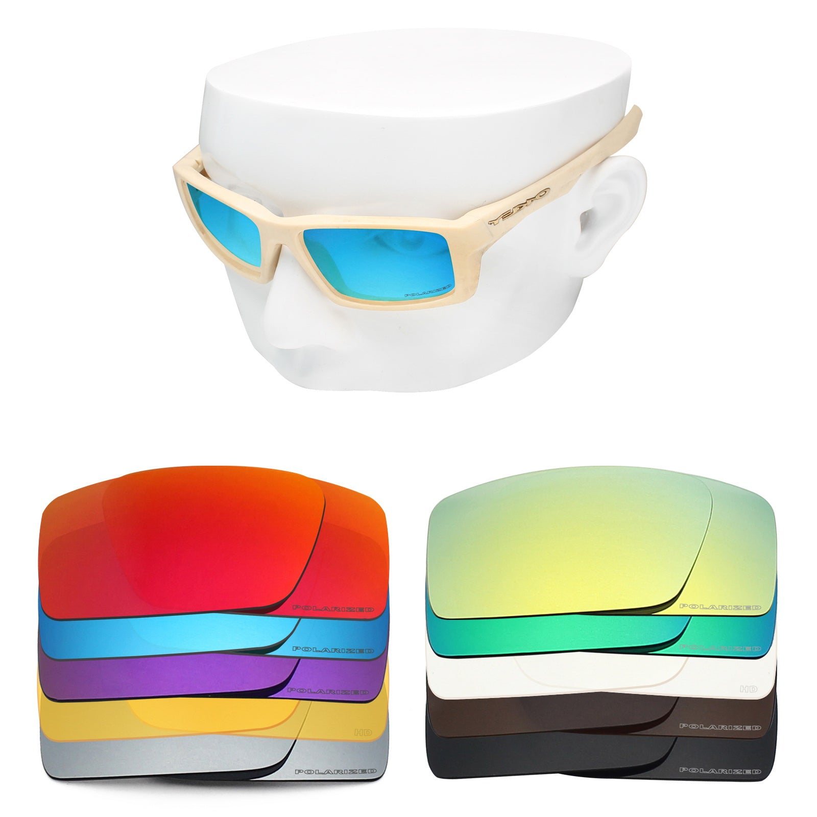 oakley twitch replacement lenses polarized