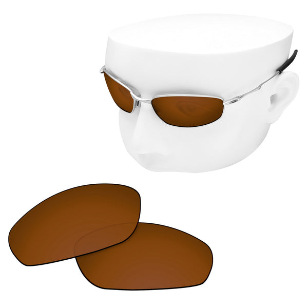 OOWLIT Replacement Lenses for Oakley Whisker Sunglass