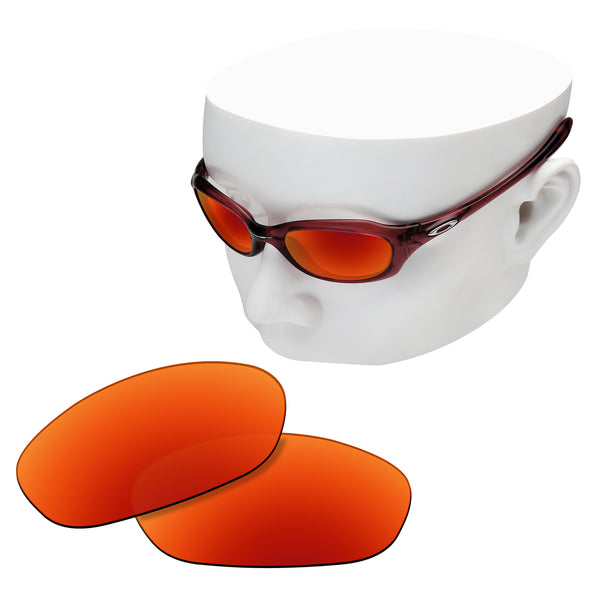 OOWLIT Replacement Lenses for Oakley XS Five Sunglass