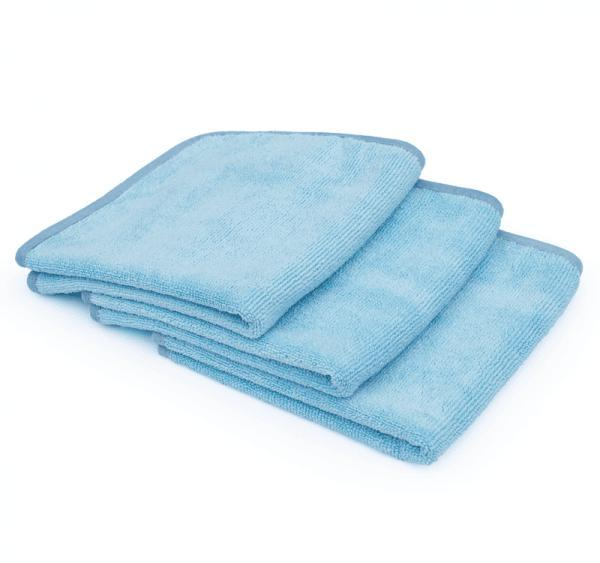 14H The Rag Company - THE PREMIUM FTW TWISTED LOOP Drying TOWEL-Drying Towel-The Rag Company-Single 40cm x 40cm-Light Blue-Detailing Shed