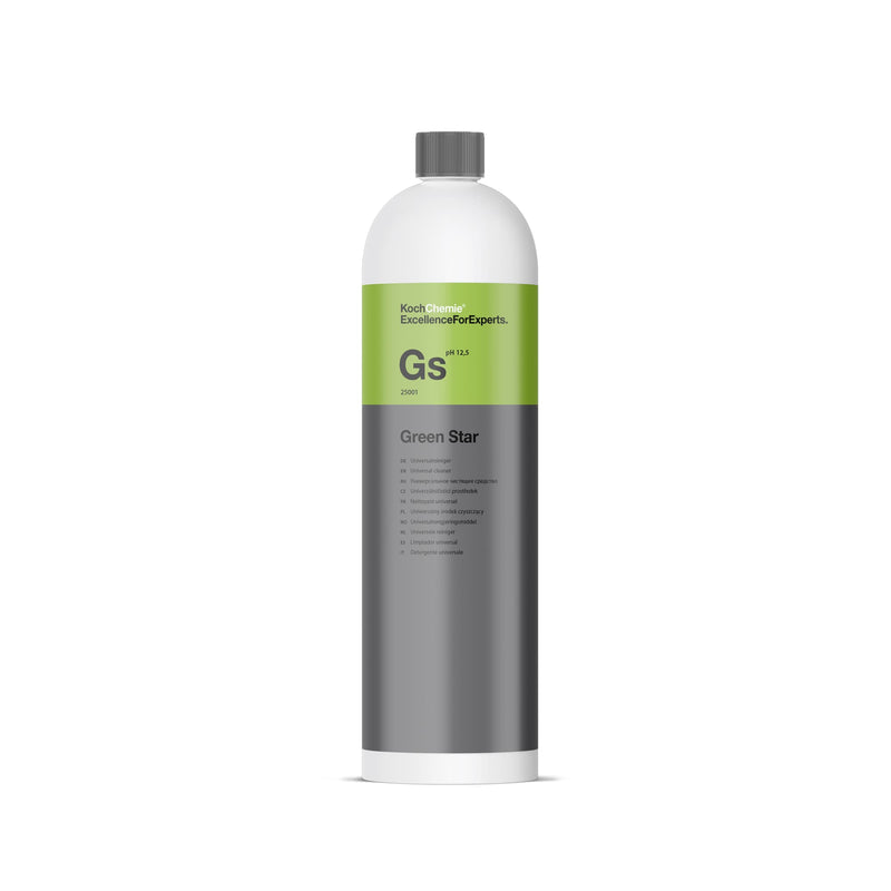 Koch Chemie Green Star GS Universal Cleaner (Highly Concentrated) (1L/10L)-All Purpose Cleaner-Koch-Chemie-1L-Detailing Shed