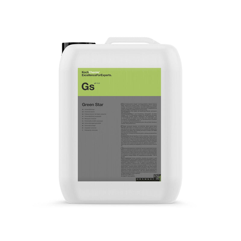 Koch Chemie Green Star GS Universal Cleaner (Highly Concentrated) (1L/10L)-All Purpose Cleaner-Koch-Chemie-10L-Detailing Shed