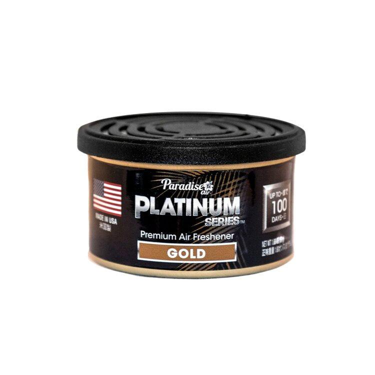 PARADISE AIR PLATINUM Car Scents Air Freshener - Long Lasting-Air Freshener-Paradise Air-Gold-Detailing Shed