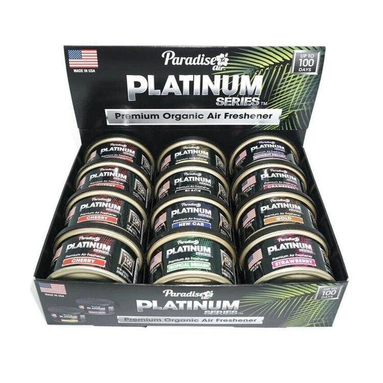 PARADISE AIR PLATINUM Car Scents Air Freshener - Long Lasting-Air Freshener-Paradise Air-Detailing Shed