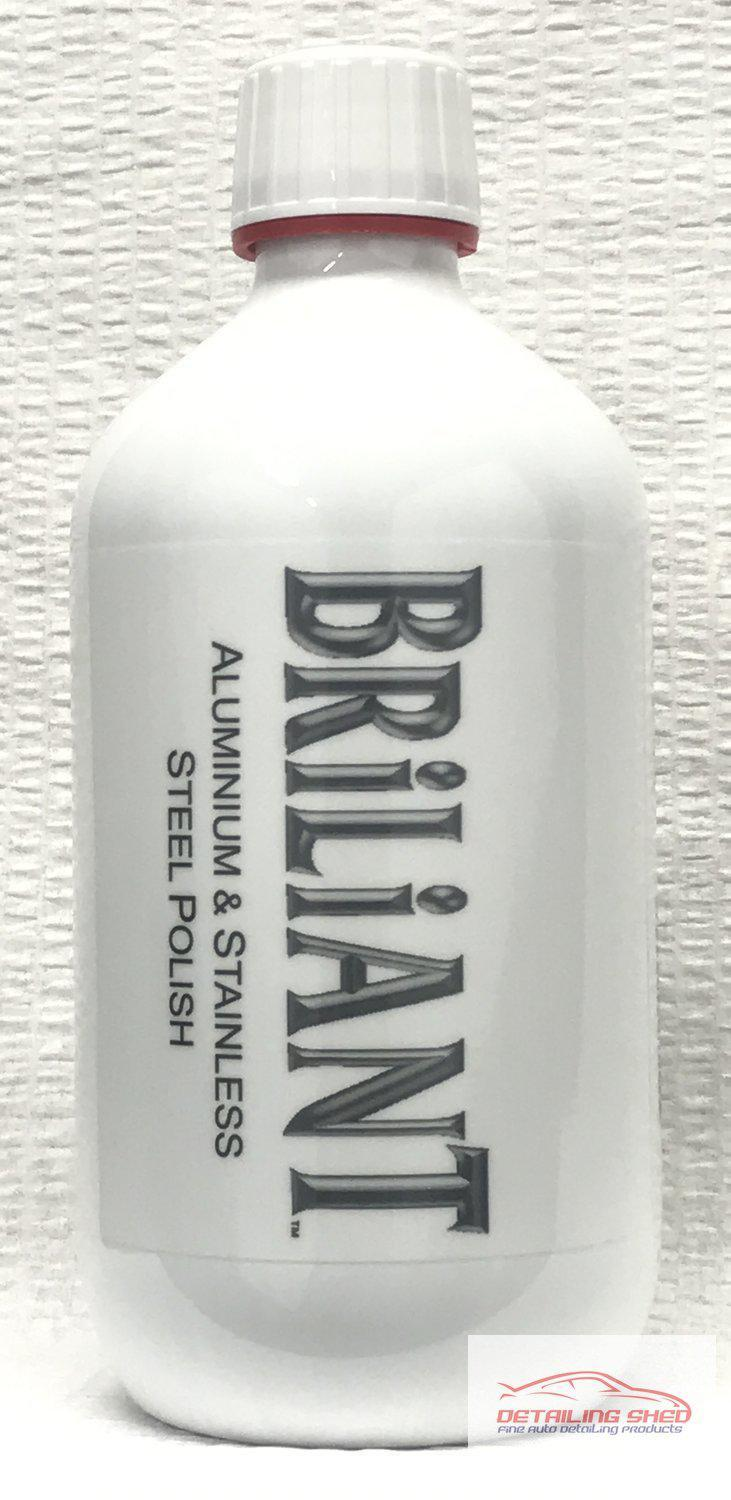 Briliant Polish Aluminium and Stainless Steel Metal Polish-Metal Polish-Briliant Polish-500ml-Detailing Shed