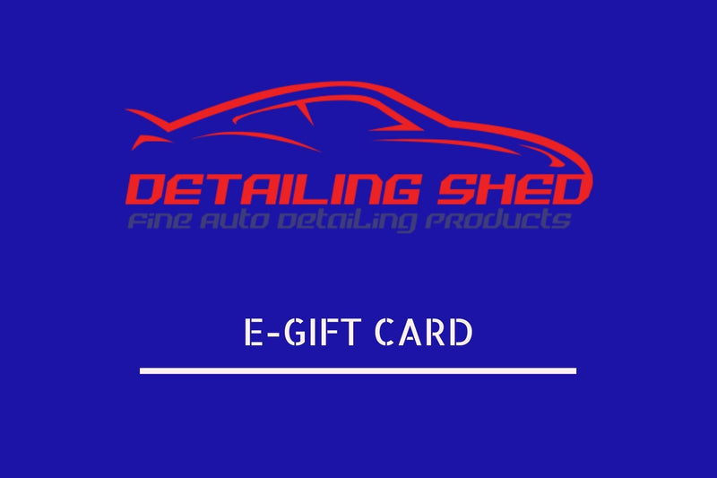 E-Gift Cards-Gift Card-DetailingShed Pro Series-$60:00-Detailing Shed