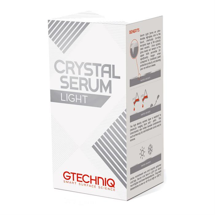 GTECHNIQ CRYSTAL SERUM LIGHT 5 YEAR PAINT PROTECTANT COATING-Coating-GTECHNIQ-Detailing Shed