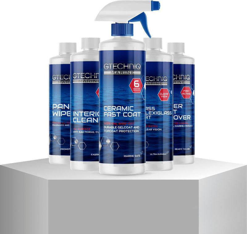 GTECHNIQ Marine Ceramic Fast Coat 500ml Spray Coating 6 Month Protection-Spray Coatings-GTECHNIQ-500ml-Detailing Shed