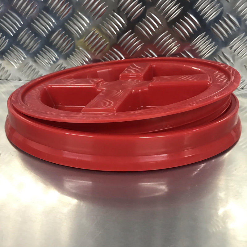 PROFESSIONAL GAMMA SEAL LID SUITABLE for 20 Litre-Wash Buckets-Detailing Shed-RED-Detailing Shed