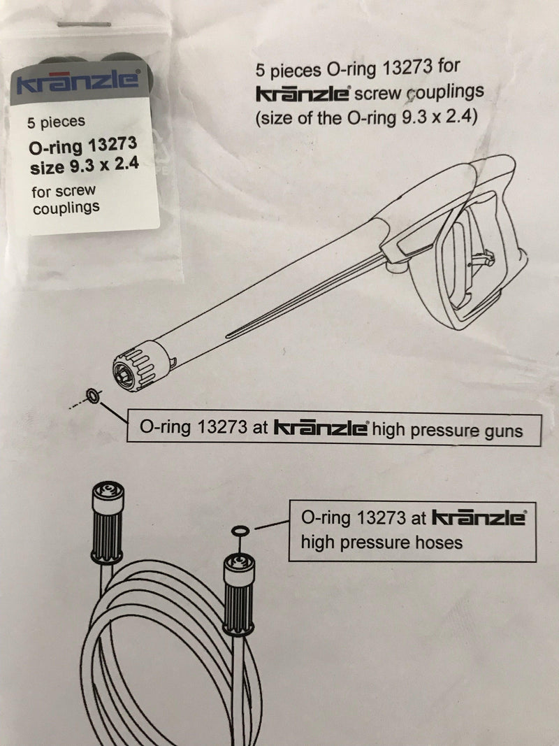 Kranzle HD10/122 TST Made in Germany **New** Total Stop System-Pressure Washer-Kranzle-Detailing Shed