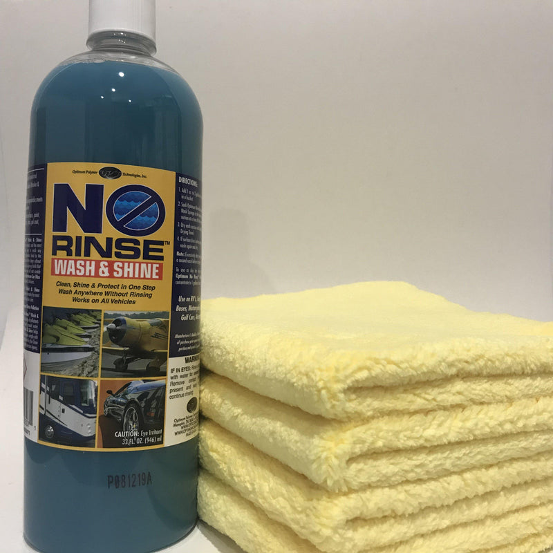 Optimum No Rinse Wash & Shine Bundle