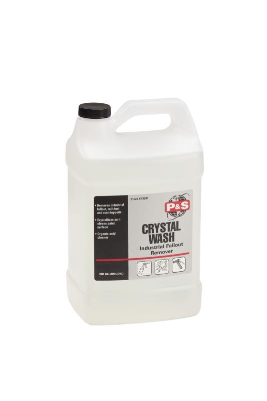 P&S Crystal Wash – Surface Prep & Fallout Remover 3.8L-Decontamination-P&S Detail Products-Crystal Wash 3.8L-Detailing Shed
