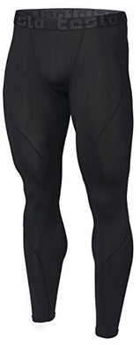 Tesla Men's Compression Pants Base-layer Cool Dry Sports Tights Leggings (small-2XL)