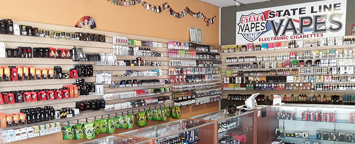 Stateline Vapes Shop located in SC that carries E-Liquid