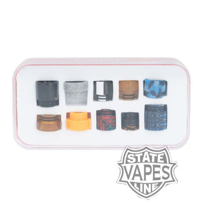 Starss Vape 510 & 810 mix Organic Resin Drip Tips (10pk)Stateline Vapes