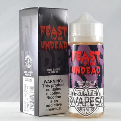 Bomb Sauce Feast Of The Undead 120Ml Eliquid