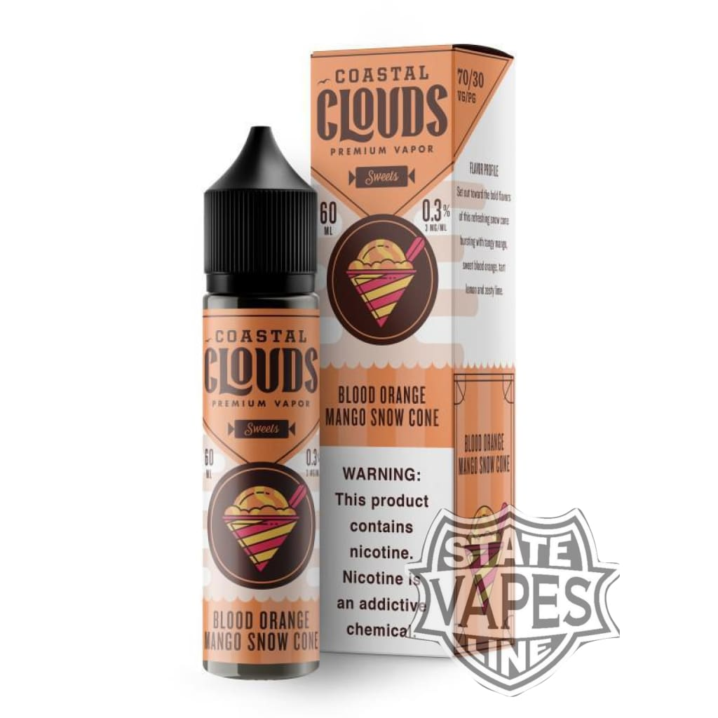 Coastal Clouds Blood Orange Snow Cone 60ml