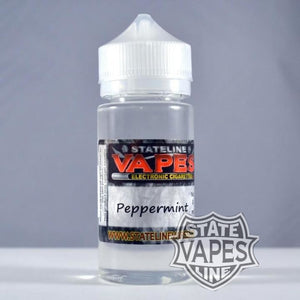 Stateline 100ml Peppermint - Stateline Vapes