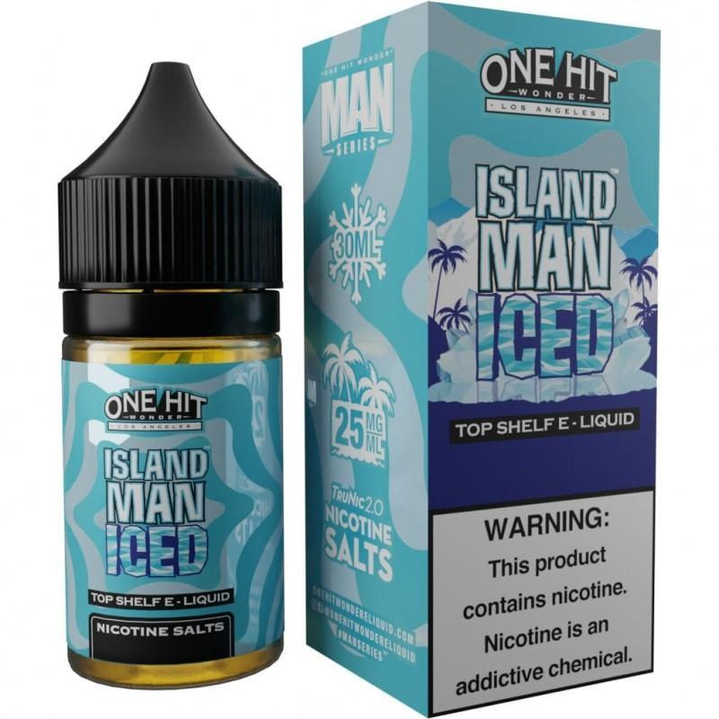 One Hit Wonder Salt Island Man Iced 30ml