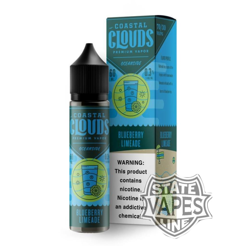 Coastal Clouds Blueberry LImeade 60ml