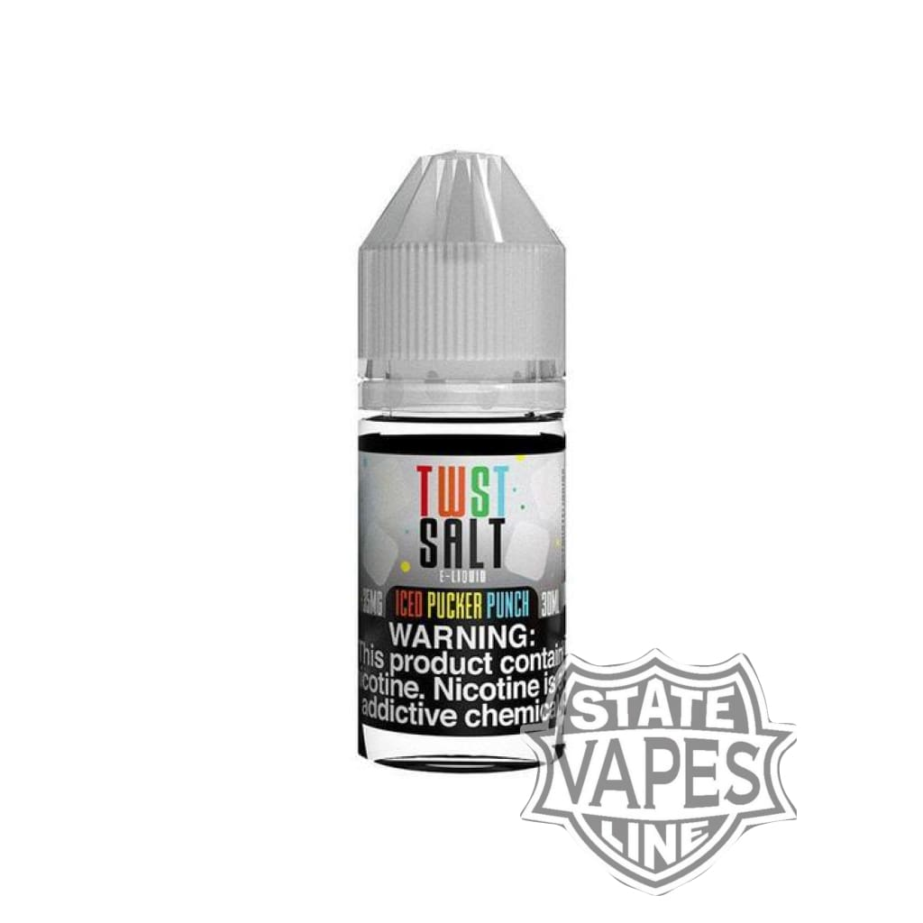 Twist Salt Iced Pucker Punch 30mlStateline Vapes
